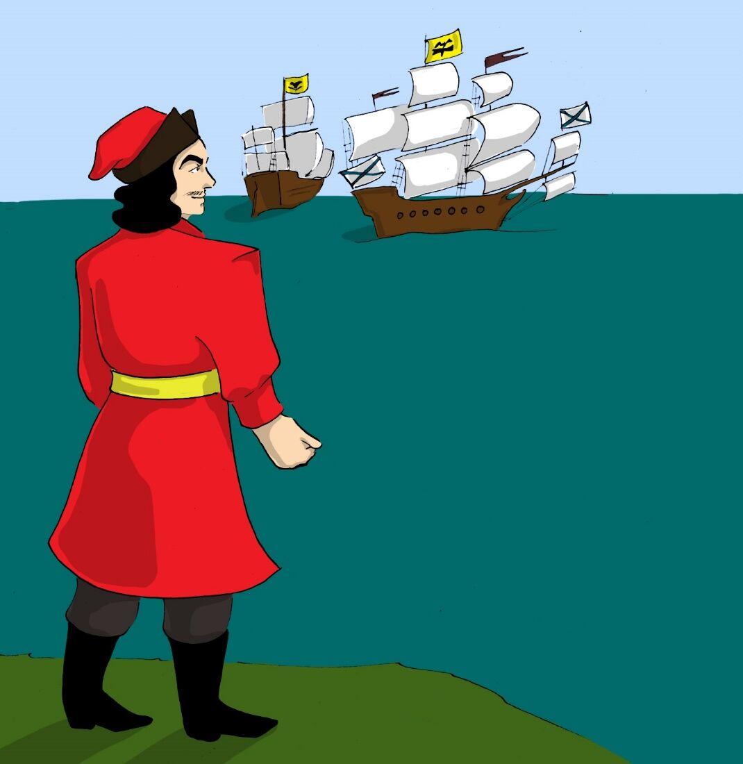тут картинка петр первый основатель флота глубого наплевать как